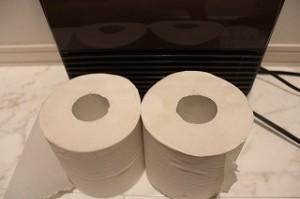 トイレヒーター幅