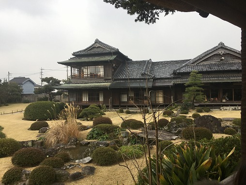 旧伊藤伝右衛門邸(「花子とアン」で白蓮と嘉納伝助が住んだ邸宅)無料駐車場・交通アクセス